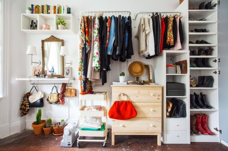Small Space Hacks Closet 1