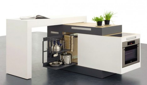 Incredibly Compact Kitchen