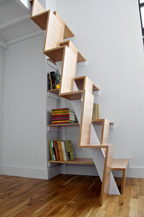 Small Space Hacks Extreme Stairs