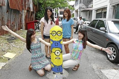 Traffic Bollards Penang Malaysia 1