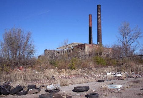 abandoned Armour meat packing plant National City IL 1