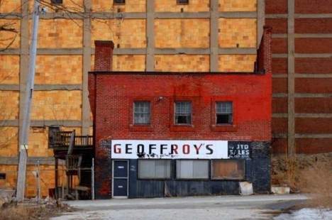 abandoned Geoffroys meat packing plant Lowell MA