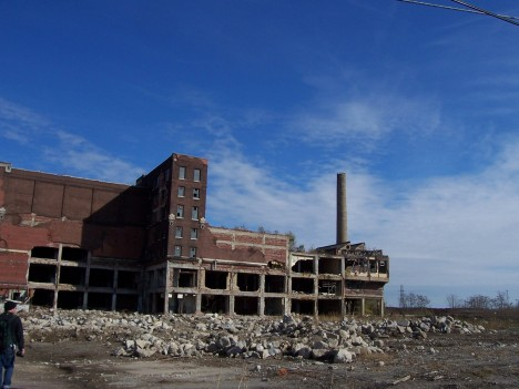 abandoned Hunter meat packing plant East St. Louis 1