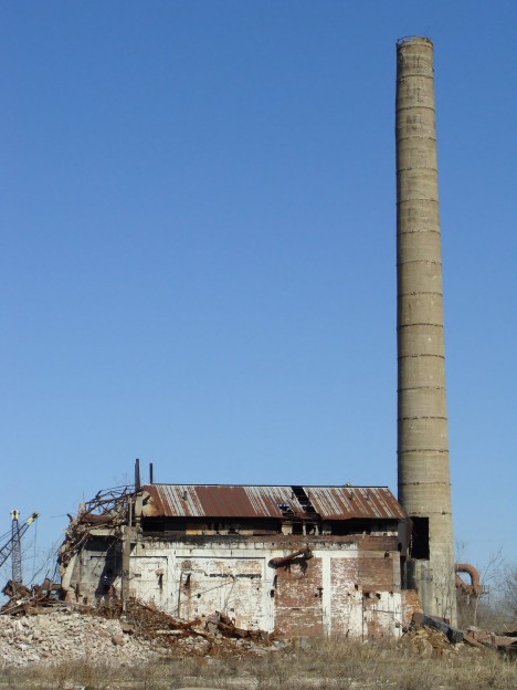 abandoned Hunter meat packing plant East St. Louis 2