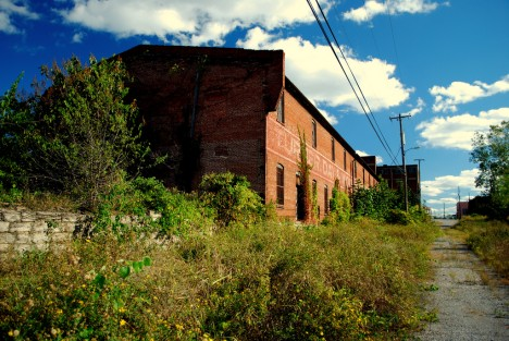 abandoned Neuhoff meat packing plant Nashville TN 1