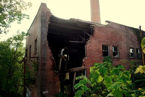 abandoned Neuhoff meat packing plant Nashville TN 3