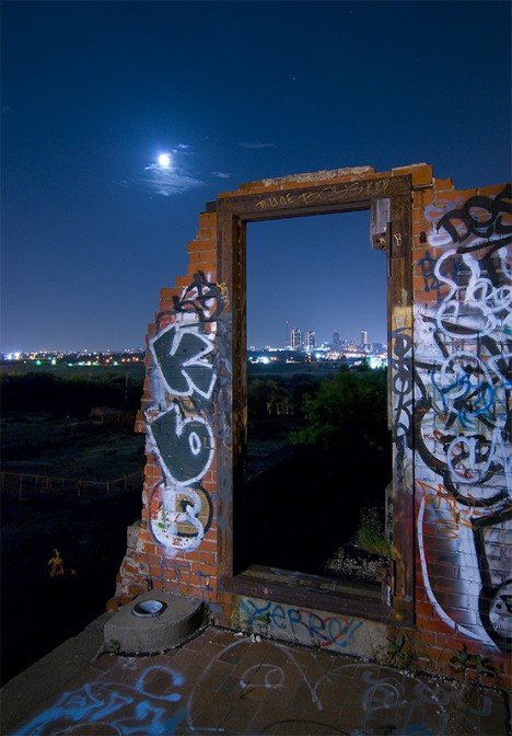 abandoned Swifts meat packing plant Fort Worth Texas 4