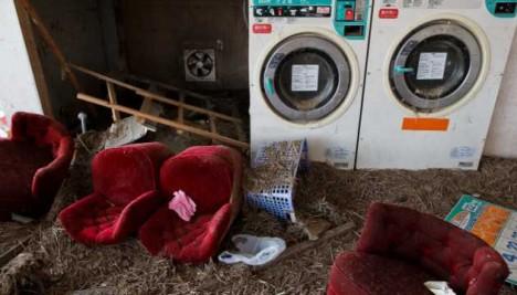 abandoned laundromat Namie Japan 2t