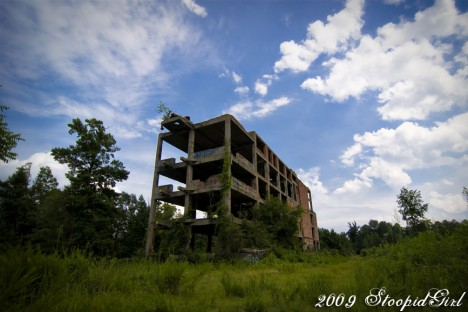abandoned meat packing plant Navassa NC 1