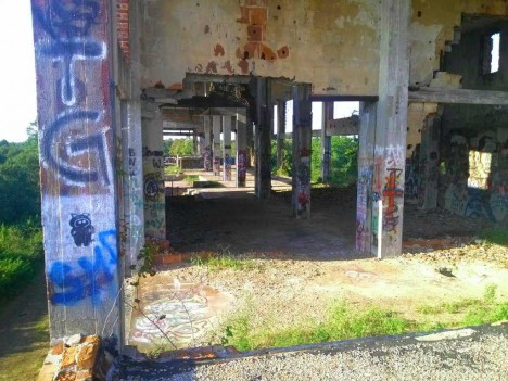 abandoned meat packing plant Navassa NC 6