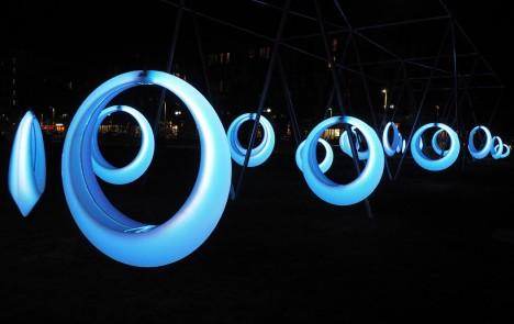 circular swing set design