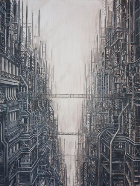 industrialized future world