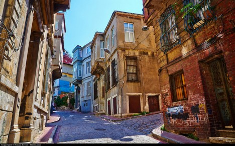 istanbul city streets