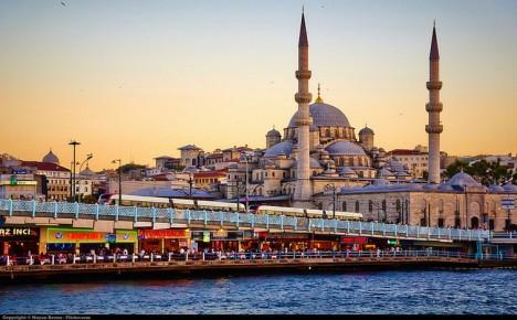 istanbul historic skyline