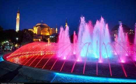 istanbul night view