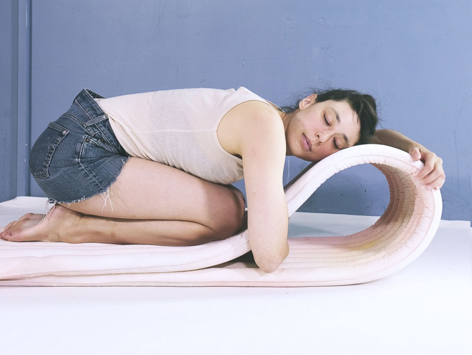 modular chair lying down