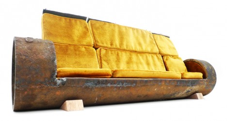modular pipe sofa full