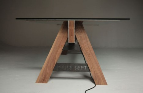 police line table