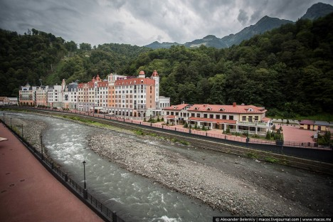 sochi ghost town river