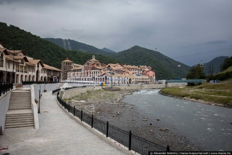 sochi sidewalk river place