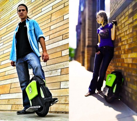 unicycle electric personal vehicle