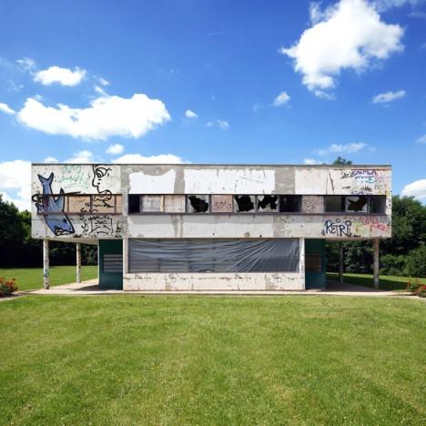 villa savoye abandoned architecture