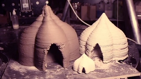 3d printed architecture mud