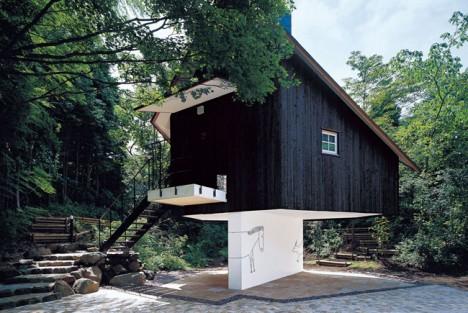Balancing Buildings Terunobu
