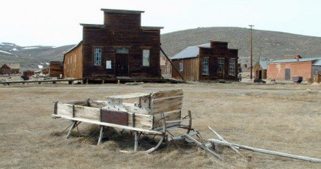 Bodie ghost town funeral parlor 1