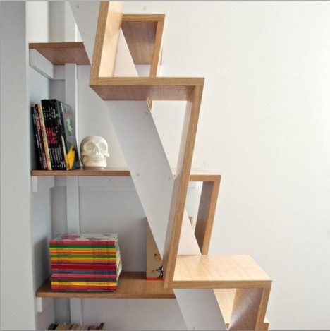 Ultra compact stairs 12 next level space saving designs - Escalera japonesa ...