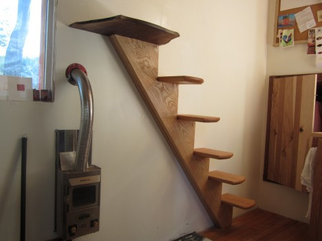 Compact Stairs Wall Mounted
