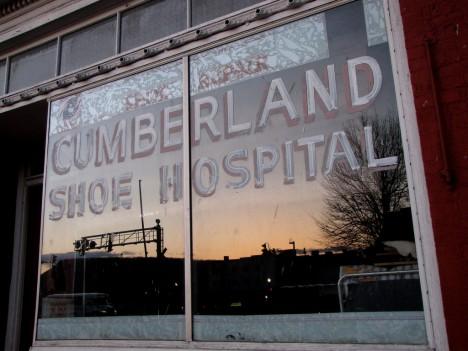 Cumberland Shoe Hospital abandoned shoe repair 2