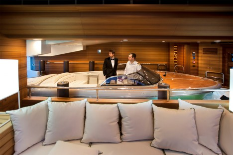 FLoating Garage Mega Yacht 3