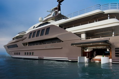 FLoating Garage Mega Yacht 6