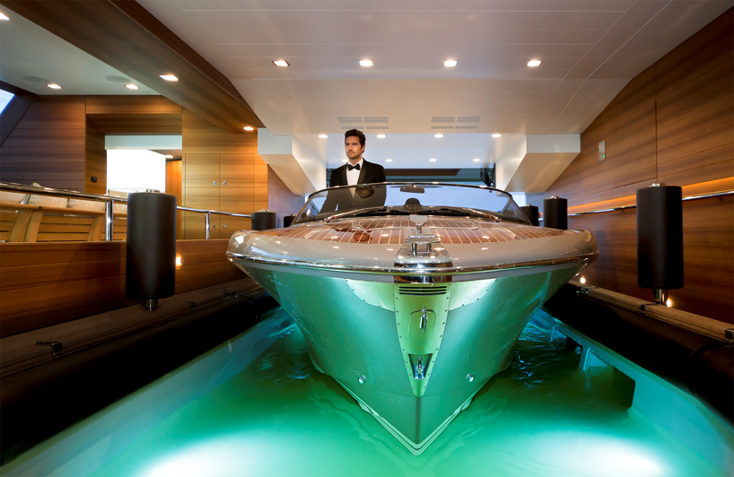 Floating Garage Mega Yacht 1