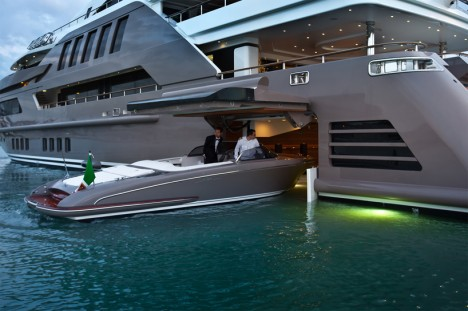 Floating Garage Mega Yacht 2