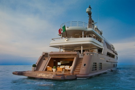 Floating Garage Mega Yacht 8