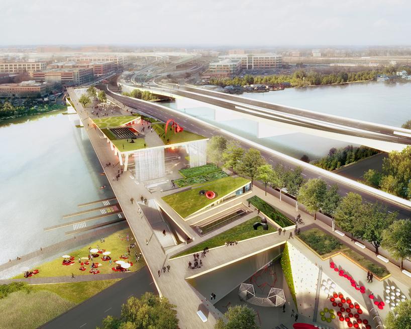 Washington DC Elevated Park