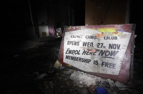 abandoned Alpha Bingo Club 2