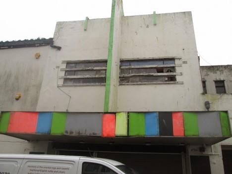 abandoned bingo hall The Ritz Penzance
