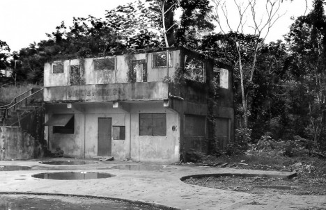 abandoned building before photo