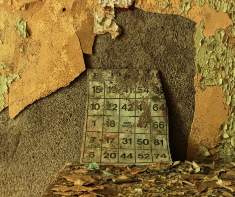 abandoned church bingo card Brownsville