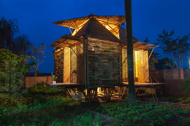 amphibious architecture affordable bamboo house 1