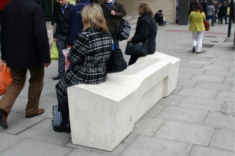 camden bench seating area