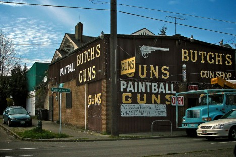 closed Butch's Gun Shop
