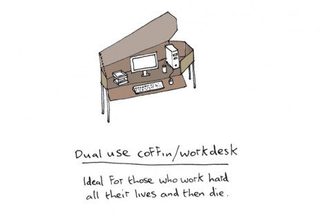 duel use coffin workstation