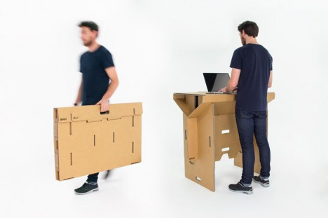 flat pack work desk
