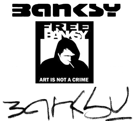 free banksy fake identityt