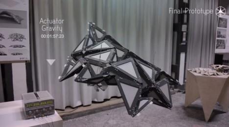 gravity actuated prototype design