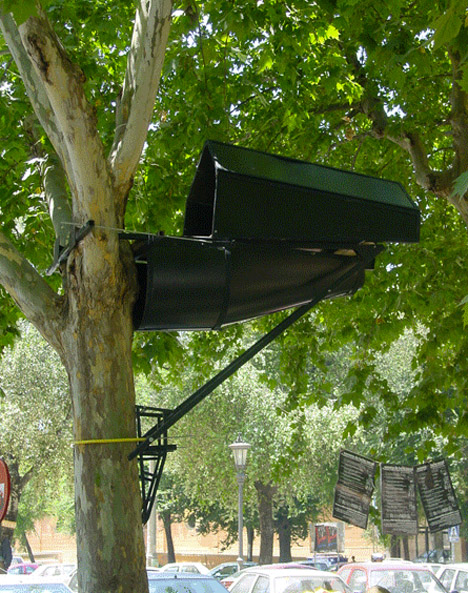 guerilla housing tree pod